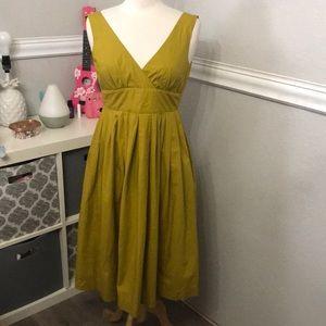 Michael Kors Mustard Yellow Dress